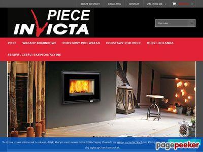 Sklep z piecami i kominkami Invicta Markowe produkty Francuzkiej firmy piece i wkłady kominkowe