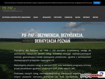 Zwalczanie szkodników Poznań