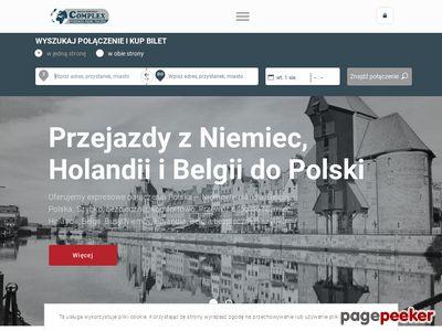 Przewóz osób Niemcy - www.pilatransport.pl