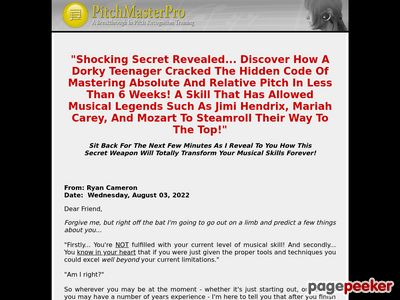 Pitch Master Pro - Relative Pitch & Absolute Pitch Ear Training - Perfect Pitch Software