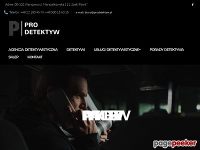 Agencja prywatnych detektywów PiT Detektywi, Poznań