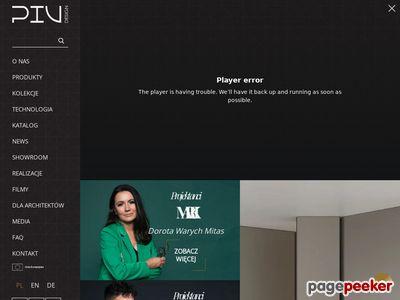 PIU Design - wysokie drzwi