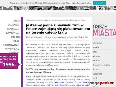 Plakatowanie Częstochowa