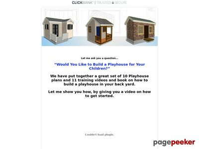 How to Build a Playhouse Step By Step Guide – plans videos and ebook