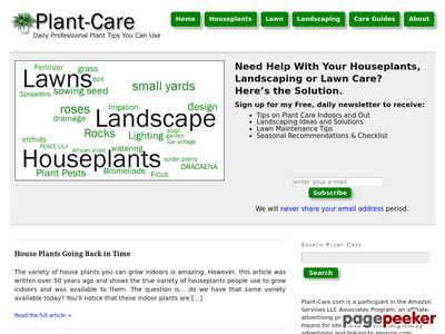 Plant-Care.com – Landscape Ideas, Design, House Plant and Lawn Care