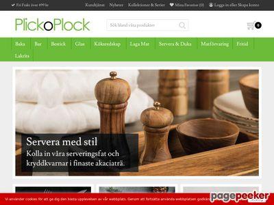 Plickoplock.se - Design och finess för köket och baren  - http://www.plickoplock.se