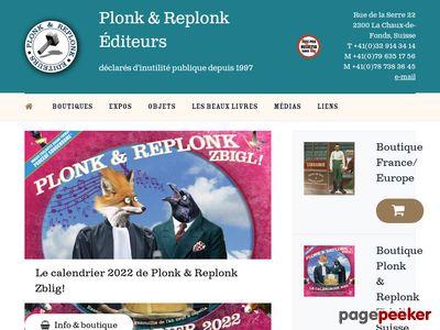 Plonk & Replonk Éditeurs (La Chaux-de-Fonds) - A visiter!