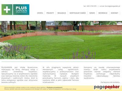 Zakładanie ogrodów PLUSGARDEN