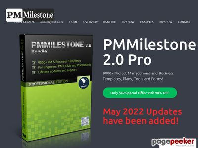 PM Milestone :: 7000+ Project Management and Business Templates