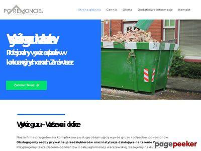 Wywóz odpadów po remoncie