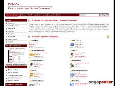 Nietypowy katalog stron www