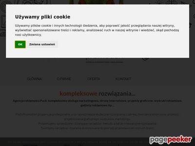 Strony internetowe Puck