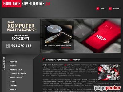 Pogotowie Komputerowe 24, Serwis Komputerowy Poznań