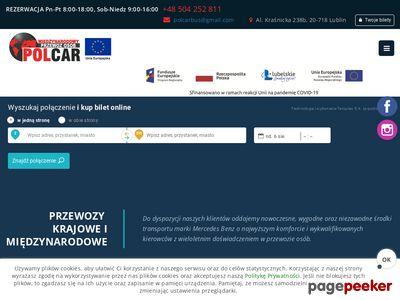 Polcar przedsiębiorstwo transportowe Bogdan Kałabunowski