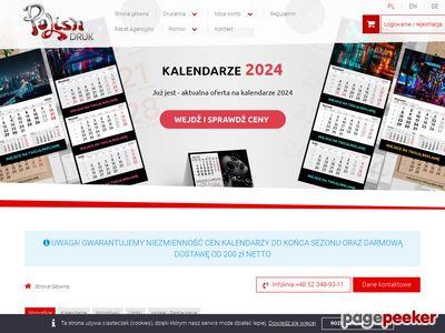 Drukowanie plakatów tylko w drukarni Polish DRUK