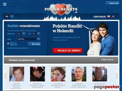 PolishHearts.nl - portal randkowy