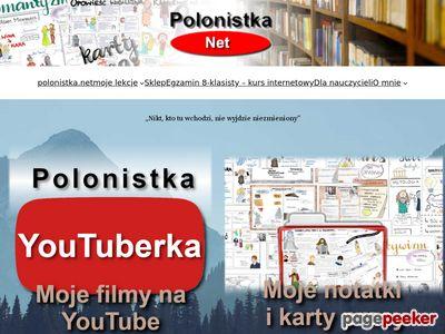 Prezentacje maturalne z języka polskiego