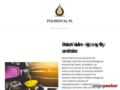 POLRENTAL SP. Z O.O. car rental warsaw