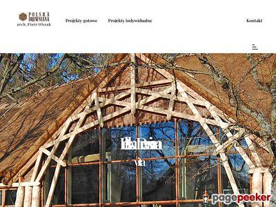 POLSKA DREWNIANA budowa domu z drewna