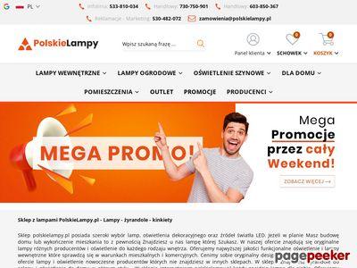 Lampy sklep AZzardo, Spotline, Italux