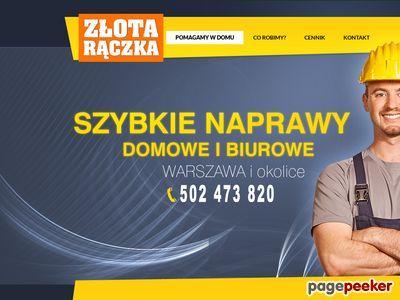 Złota rączka Warszawa