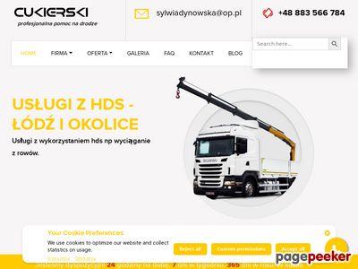 Cukierski - pomoc drogowa z Łodzi