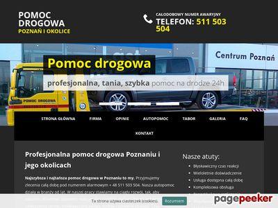Holowanie pojazdów Poznań, kraj i zagranica