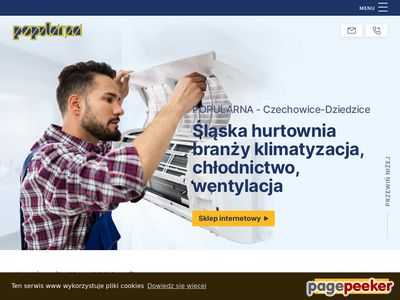Www.popcold.pl - klimatyzacja i chłodnictwo