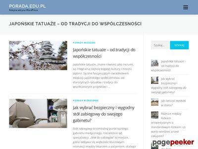 Porada.edu.pl - Wszystko co ułatwia życie