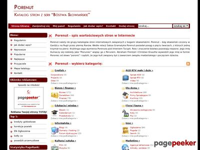 Katalog Porenut