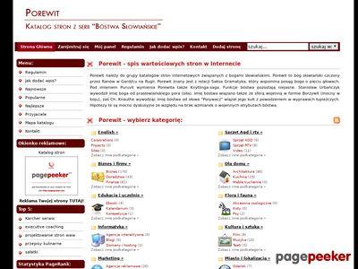 www.porewit.pl