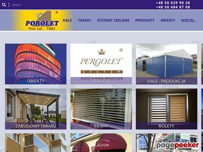 Www.porolet.pl : systemy szklane tarasowe