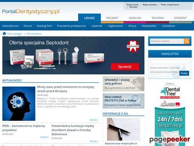Stomatologia - poradniki - PortalDentystyczny.pl