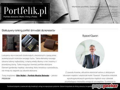 SuperPortfel.pl -portfele skórzane, teczki, etui, paski, torebki