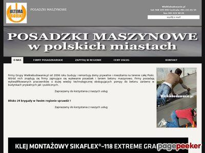 POSADZKI MASZYNOWE FIRMY Poznań