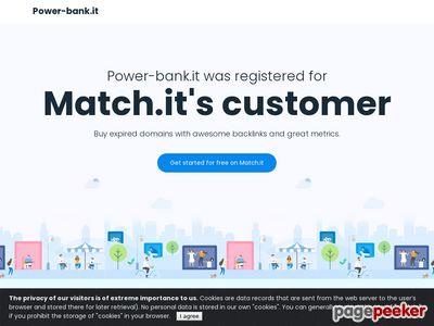 Power-Bank.it - Elektroniczne gadżety reklamowe z logo