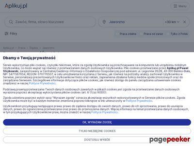 Portal regionalny Praca Jaworzno - Paweł Strykowski
