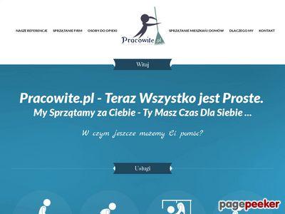 Pracowite.pl- Serwis sprzątający Warszawa