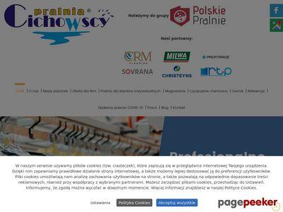 Pralnia wodna i chemiczna Cichowscy w Gdyni w Trojmieście w Pomorskim