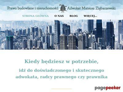 Prawo budowlane Łódź Poznań adwokat radca prawny prawnik