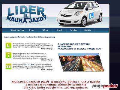 LIDER Prawo Jazdy Bielsko-Biała