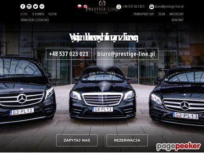 Przewóz osób Gdańsk tylko z Prestige Line