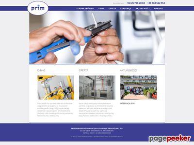 PRIM instalacje elektryczne mazowieckie