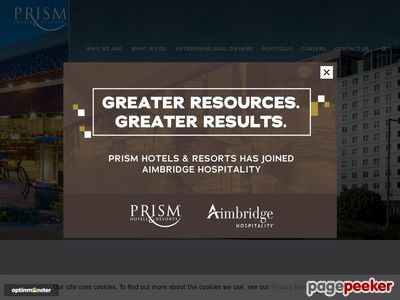 Prism/REMIC Hotels Screenshot