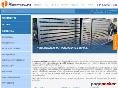 Siatka leśna :: www.produkty-metalowe.pl