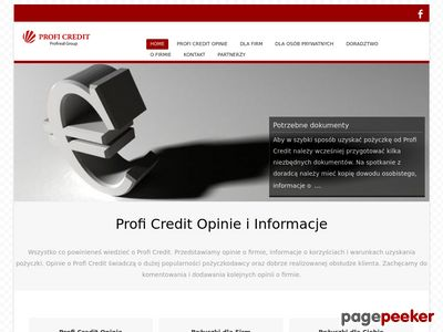 Informacje o Profi Credit