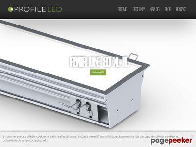 Profile LED - oświetlenie LED dla firm