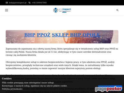 Szkolenia bhp Opole