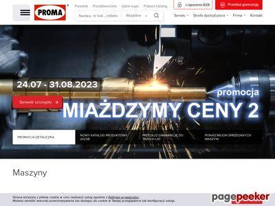 Sprzedaż maszyn do metalu - PromaPL.pl