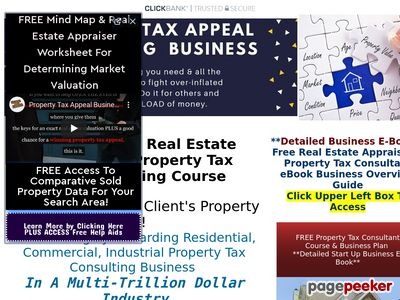 Property Tax Consulting Business